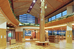 意匠設計 吹上図書館