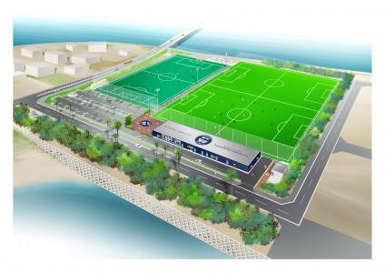 鹿児島Uサッカー整備場